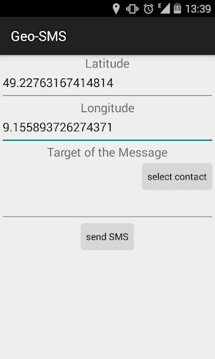 Geo-SMS