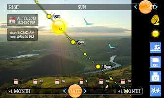 Screenshot of SunTrajectory.net