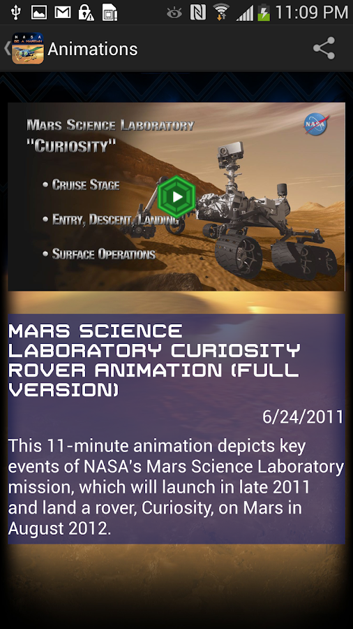 NASA Be A Martian - screenshot