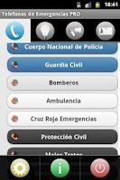 Screenshot of Telefonos de Emergencia PRO