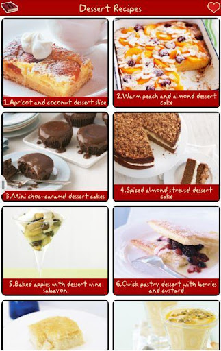 甜品食譜免費!