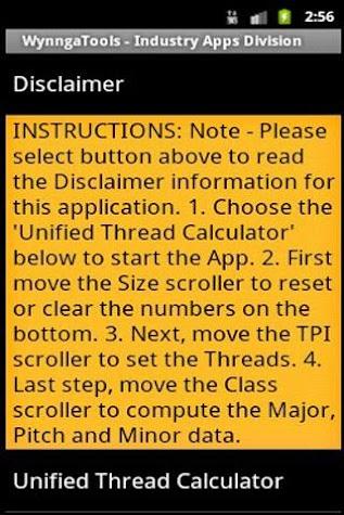 Smart Thread Finder Screenshot