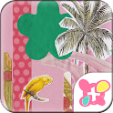 Colorful Theme-Tropical Resort icon