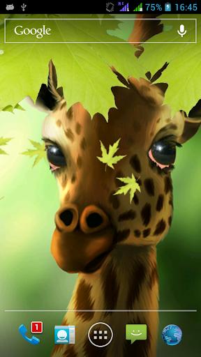 Giraffe HD Parallax LWP Pro