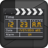 Clapperboard - Clock Widget