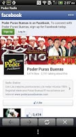 Screenshot of Poder Puras Buenas