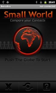 Compare contacts - Small World- screenshot thumbnail