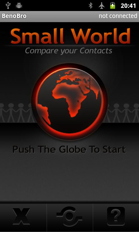 Compare contacts - Small World - screenshot