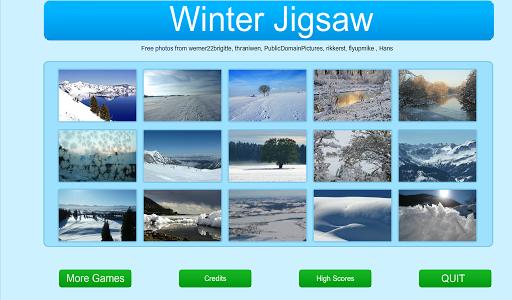 Winter Jigsaw and Slider