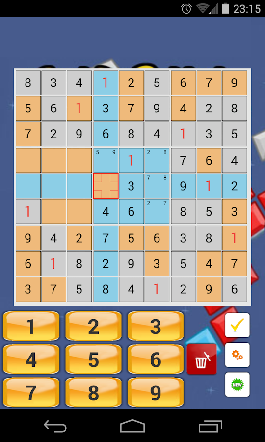 Free Sudoku- screenshot