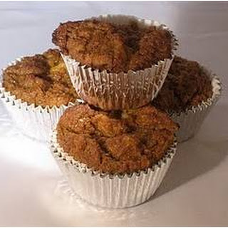 Healthy Carrot Muffins.