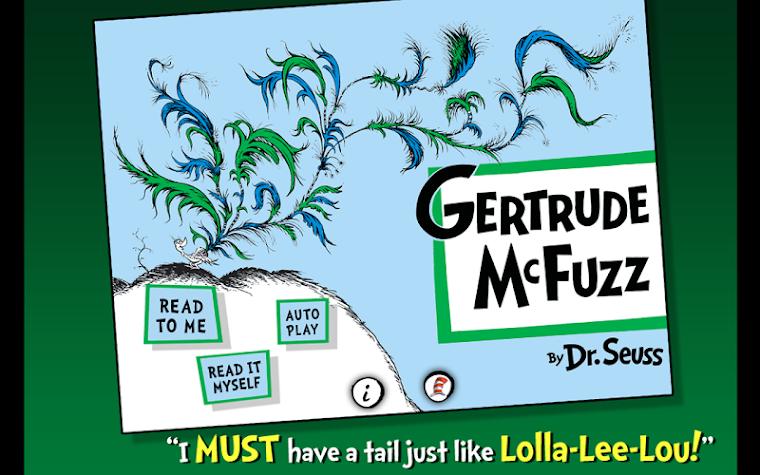 Gertrude McFuzz - Dr. Seuss Screenshot