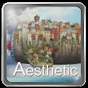 aesthetic theme GO Launcher EX