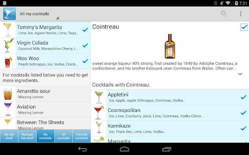 My Cocktail Bar Pro- screenshot thumbnail