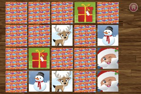 Xmas Match Game for Kids FREE - screenshot