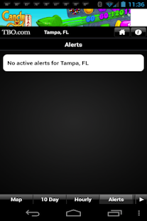 Tampa Bay weather from TBO- screenshot thumbnail