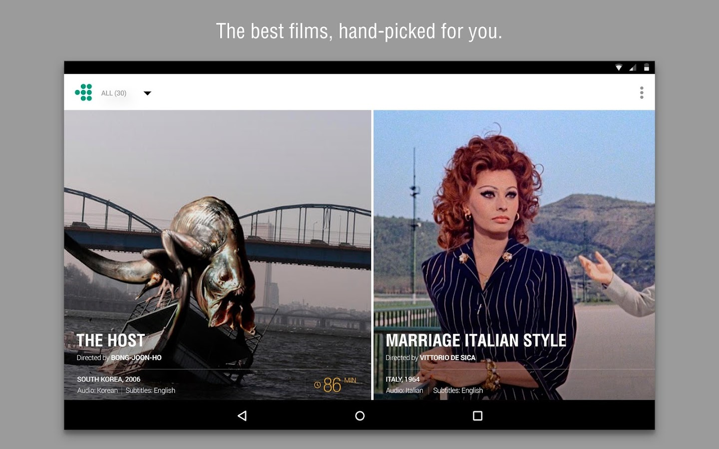 Phone Download Free Full Movies For Android Phones mubi stream download films android apps on google play screenshot
