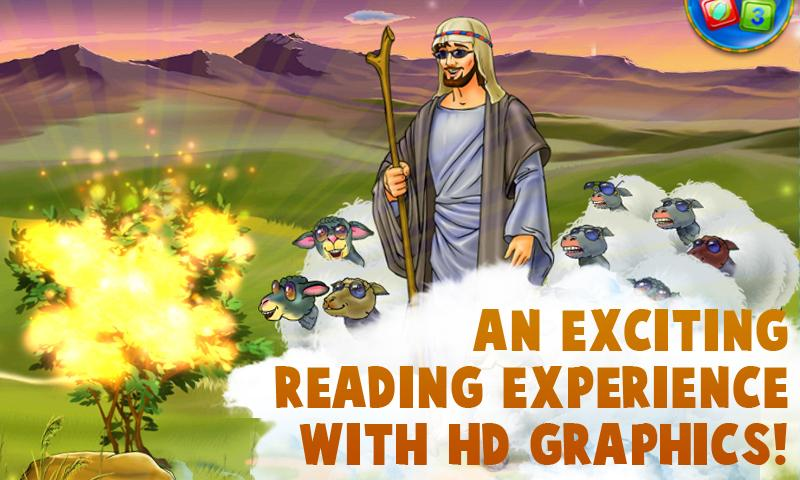Moses - Kids Bible Story Book- screenshot