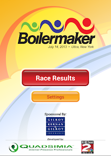 Boilermaker Results - screenshot thumbnail