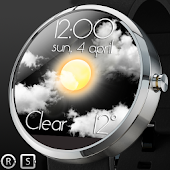 Weather Animation Watch Face