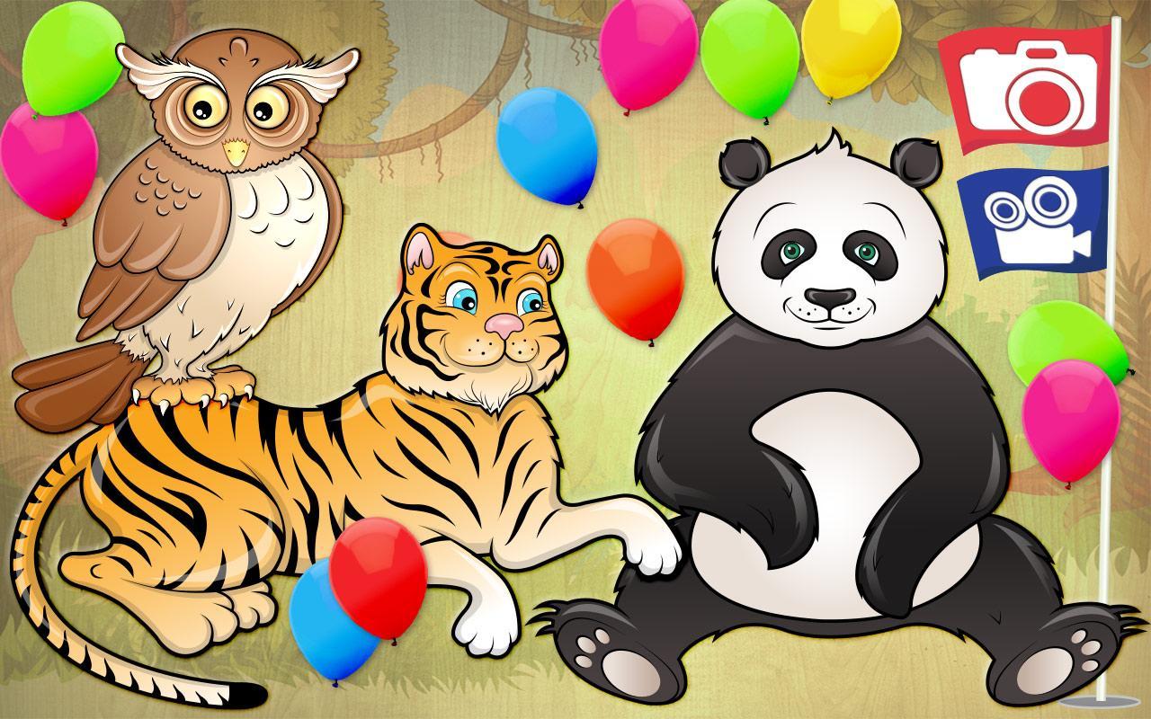 free kids puzzle game animal screenshot