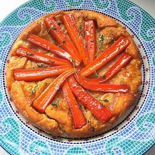 Carrot Tarte Tatin