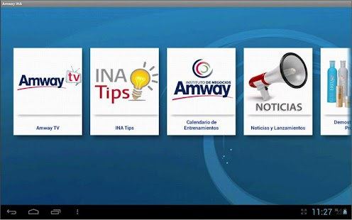 Instituto de Negocios Amway HD - screenshot thumbnail