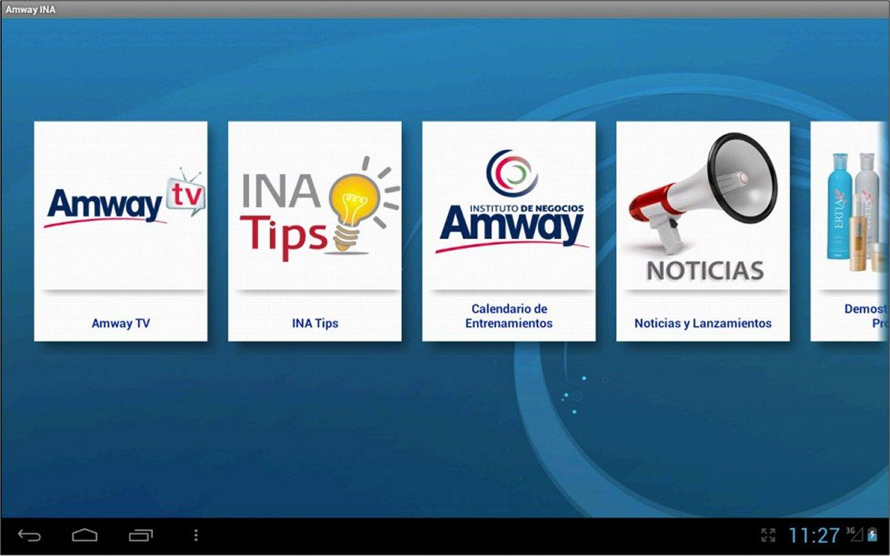Instituto de Negocios Amway HD - screenshot