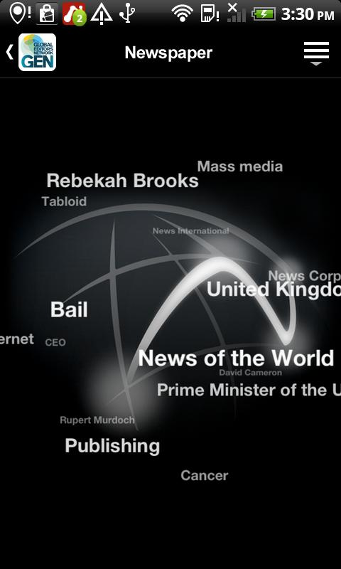 Global Editors Network - screenshot