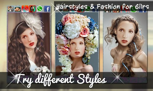 Hairstyles & Fashion for Girls - screenshot thumbnail