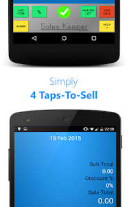 Sales Keeper Free Mobile Till screenshot 1