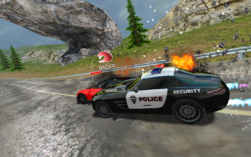 Racers Vs Cops : Multiplayer Screenshot