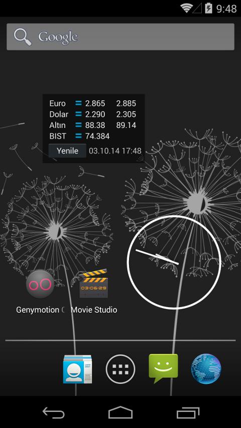Altın Döviz Widget - screenshot