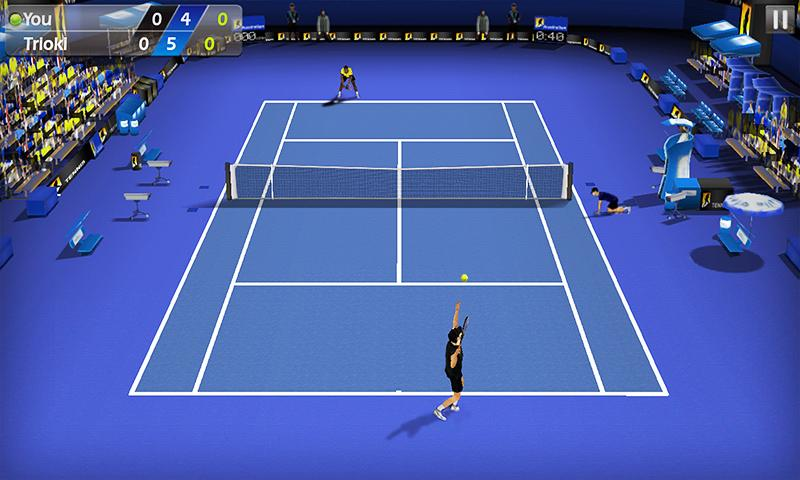 3D Tennis - screenshot