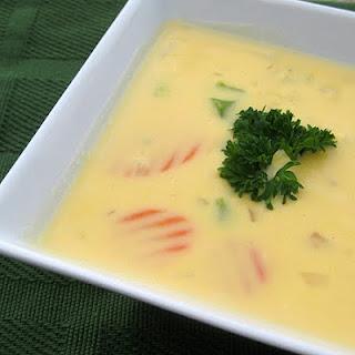 Easy Cheesy Veggie Soup.