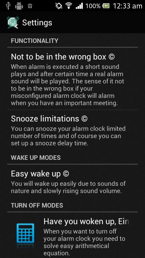 Simple & Reliable Alarm Clock- screenshot