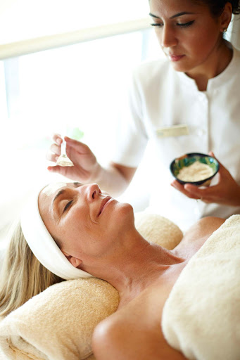 Spa-Fitness-Crystal-Spa-Facial - A spa facial leaves you feeling refreshed and rejuvenated on Crystal Symphony.