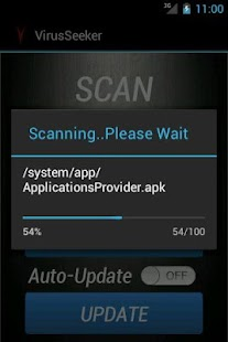 Virus Seeker Mobile Security - screenshot thumbnail