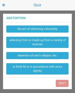 SAT GRE GMAT vocab by edMantra- screenshot thumbnail