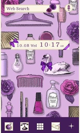 ★免費換裝★蘭花紫 for[+]HOME