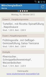 Mensa Mönchengladbach - screenshot thumbnail