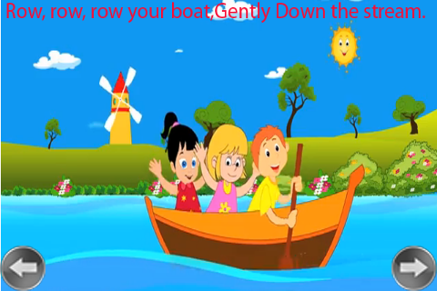 Kids Rhyme Row Row Your Boat Apk Download 5