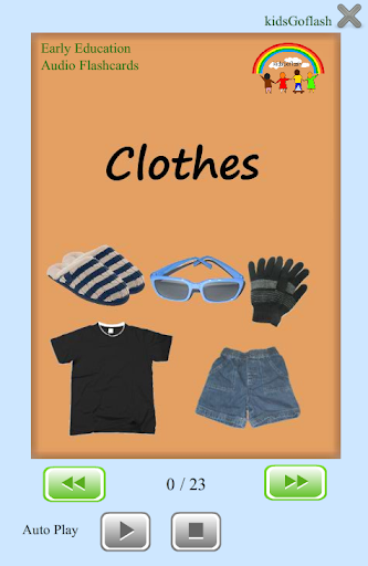 Flashcards for Kids - Clothes