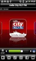 Screenshot of Radio City 93,7 FM