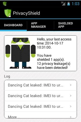 PrivacyShield- screenshot
