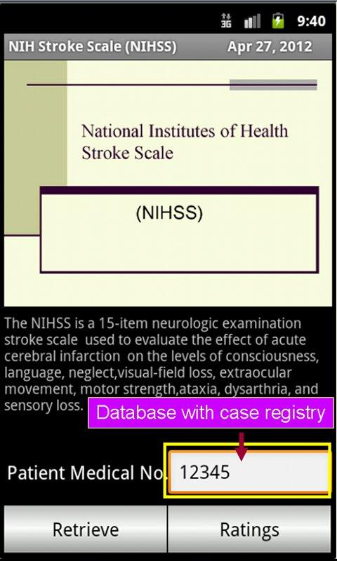 NIHSS ( Stroke Scales )- screenshot