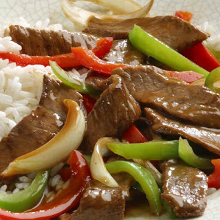 Weeknight Pepper Steak