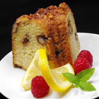 Nutty Lemon Coffee Cake.