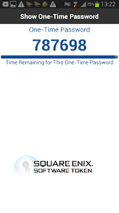 SQUARE ENIX Software Token - screenshot thumbnail