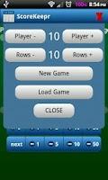 Screenshot of Score Keeper BACON